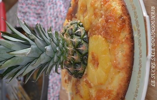 gateau enversé ananas 1