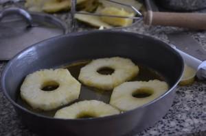 gateau enversé ananas 3