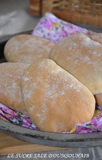 pain pita  au four