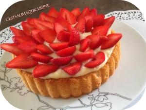 genoise fraise salima