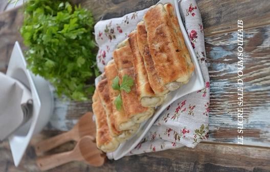 crèpes marocaines farcies à la viande hachée