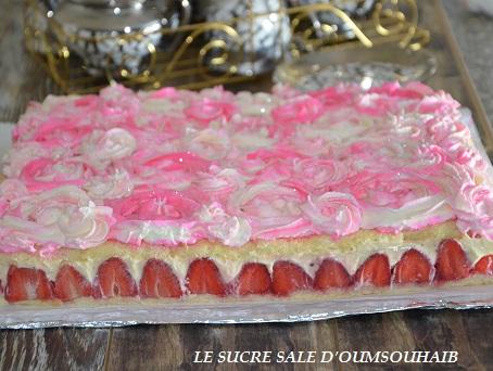 fraisier creme diplomate 3