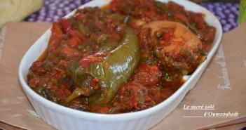 himss sétifien algérien salade de poivrons grillés