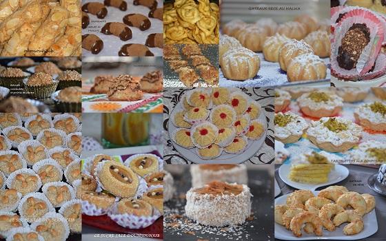 gâteaux secs algériens pour l'aid