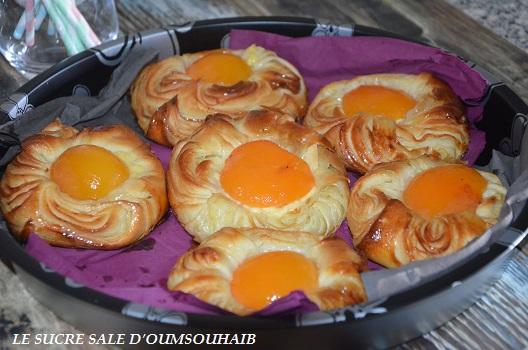 danish aux abricots viennoiserie danoise couque