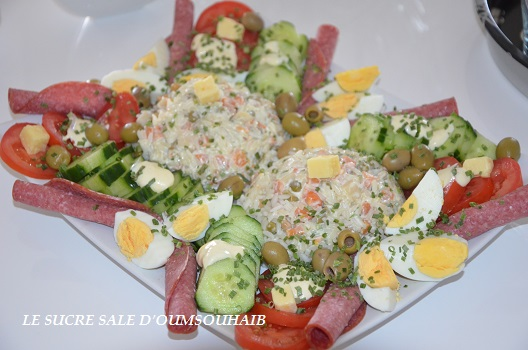 salade de riz thon macedoine 1