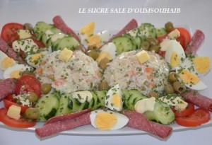 salade de riz thon macedoine 2