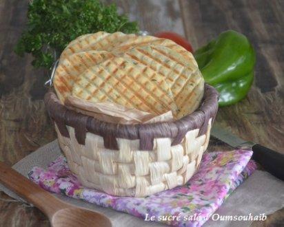 petit pain plat de Jamie Oliver
