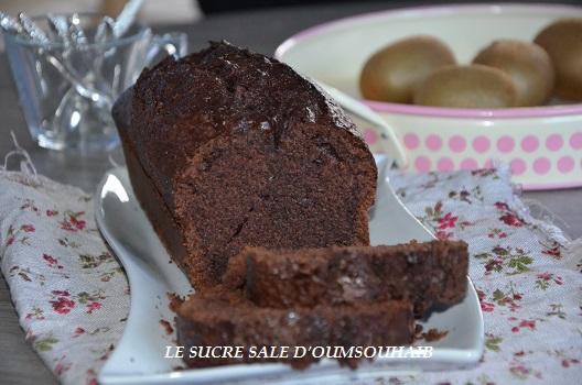 cake au yaourt et cacao
