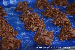 rose des sables chocolat au lait et praliné