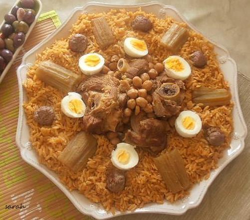 recette tlitli algérien recette de langue d'oiseau en sauce rouge
