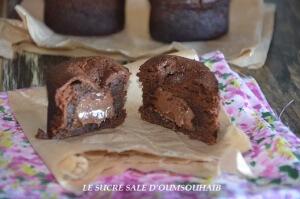 fondant chocolat coeur nutella 2