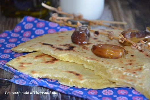 galette kabyle facile aghroum
