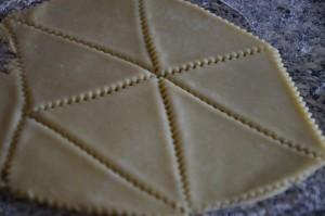 beignet triangle au sucre 2