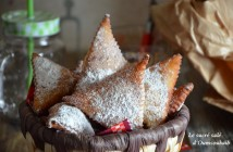 beignet triangle au sucre