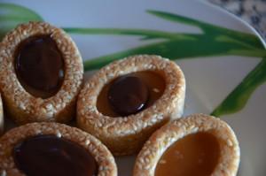 mini tartelette chocolat caramel beurre salé 3