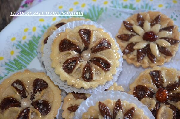 gâteau algérien en fleur 2