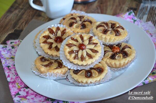 gâteau algérien en fleur 3
