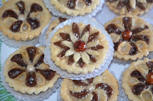 gâteau algérien en fleur