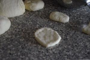 petit pain marocain au four 4