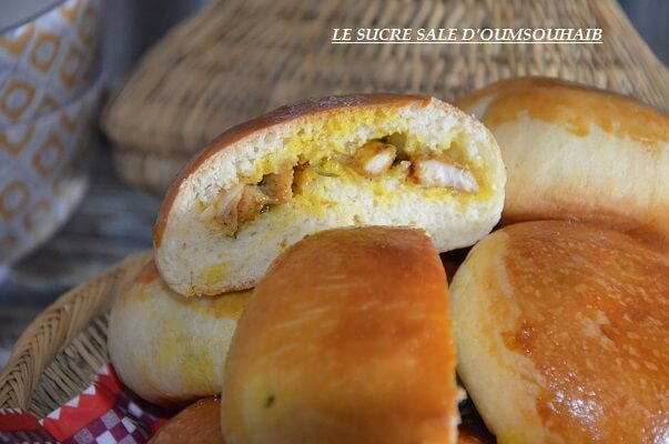 buns au poulet curry 2
