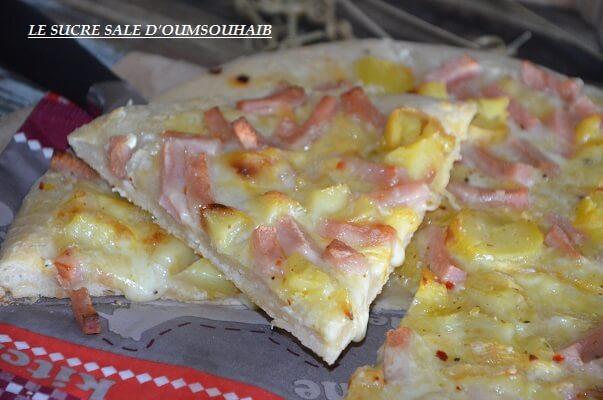 pizza crème fraiche reblochon 2