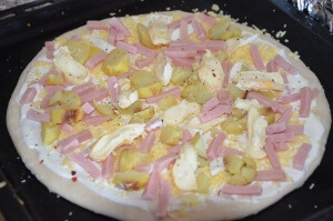 pizza crème fraiche reblochon 3
