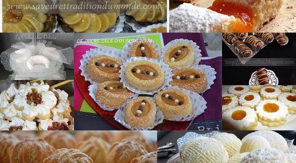 gâteaux algériens pour l'aid 2016