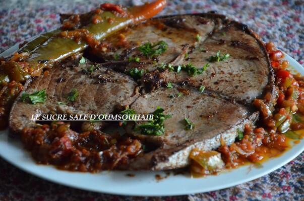 recette de thon rouge à la marocaine 1