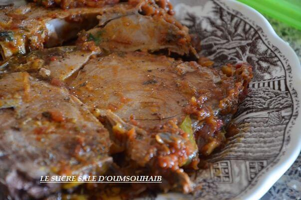 Recette De Thon Rouge à La Marocaine Le Sucré Salé DOum Souhaib - Cuisiner le thon
