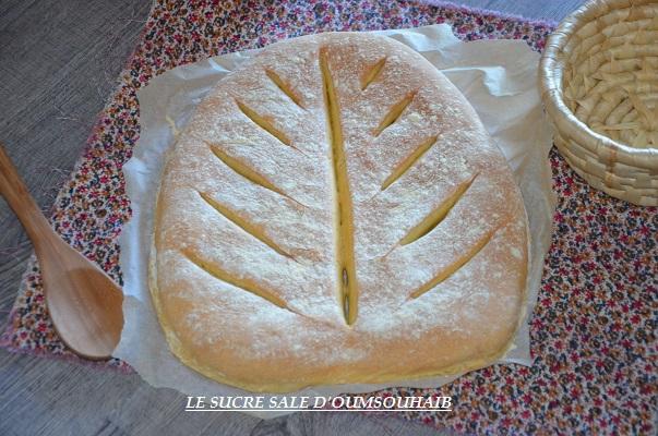 pain à la farine de maïs maison au four recette facile