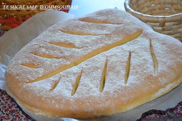 pain à la farine de maïs mazison au four recette facile