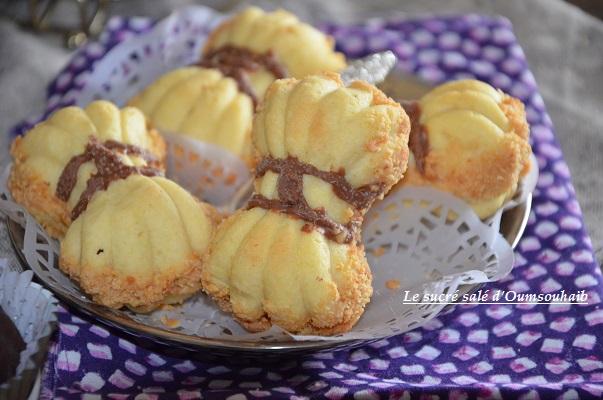 recette gâteau noeud papillon au caramel