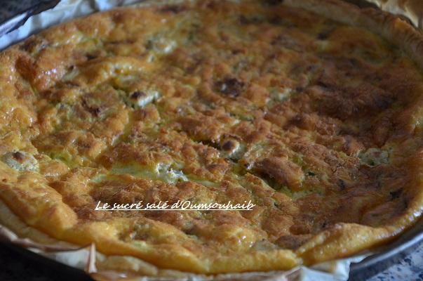 recette tarte courgette boursin et pommes de terre