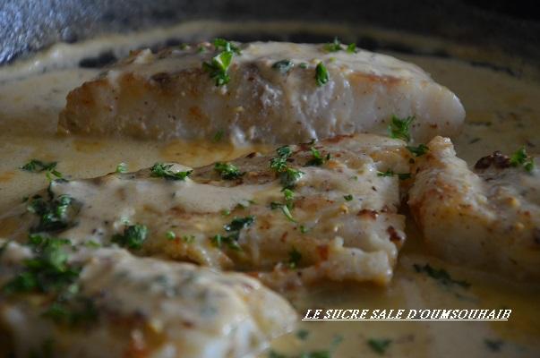 recette filet de cabillaud congelé