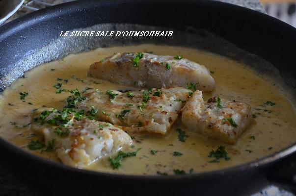 Recette Filet De Cabillaud Congele Le Sucre Sale D Oum Souhaib