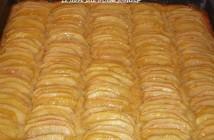 tarte aux pommes crème amande