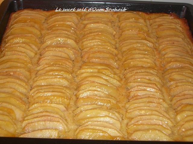 Tarte Aux Pommes Et Creme D Amande Le Sucre Sale D Oum Souhaib