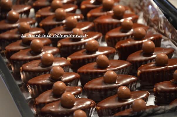glaçage au chocolat inratable