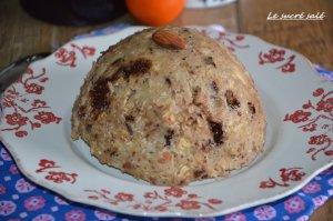 bowl cake compote de pomme