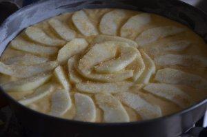 gâteau manqué aux pommes 5