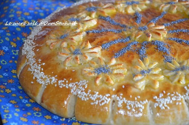pain arabe au levain facile