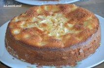 gâteau au yaourt aux pommes moelleux 1