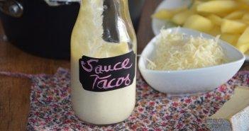 sauce fromagère pour tacos (aux 3 fromages) 1
