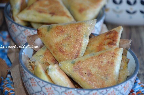 brick poulet curry crème fraiche 6