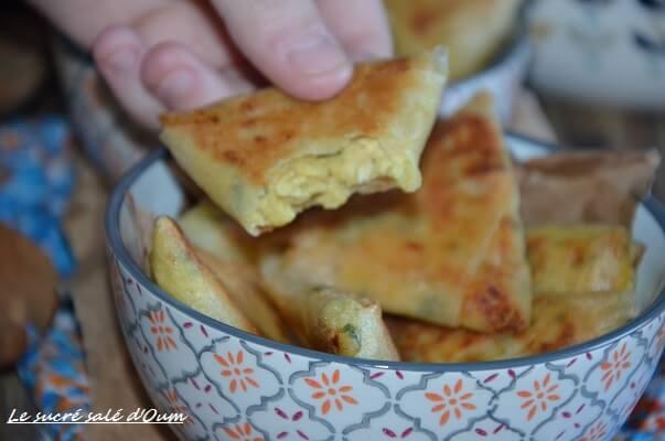 brick poulet curry crème fraiche 7