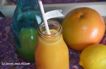 jus de pamplemousse orange citron (jus détox gingembre)