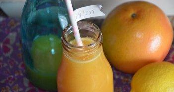 jus de pamplemousse orange citron (jus détox gingembre)