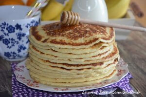pancakes moelleux sans repos