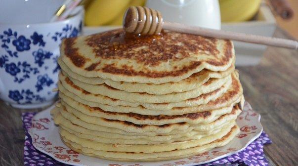 Pancakes Américains Sans Repos Recette Facile Le Sucré Salé D